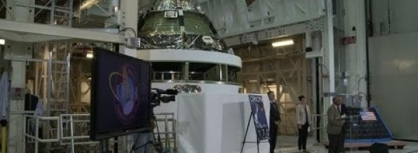 NASA unveils Orion spacecraft