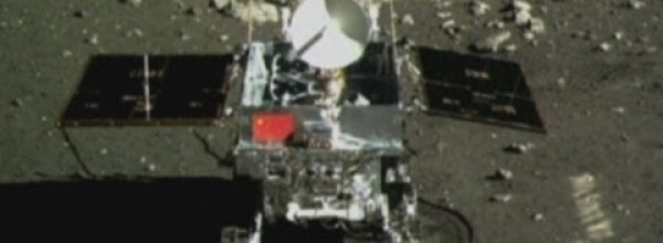 China's Moon Rover Footage