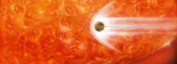 Red Giant Star Has Swallowed the Planet