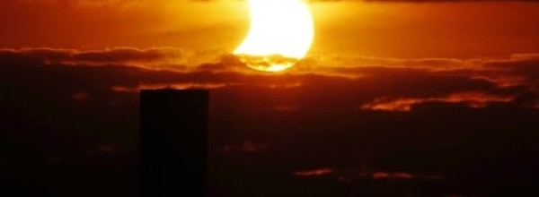 Partial Solar Eclipse on October 23