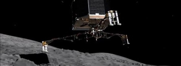 Rosetta Spacecraft Is about to Land on a Speeding Comet