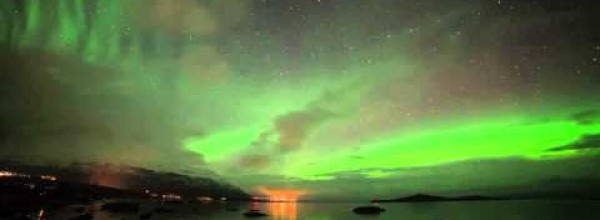 An Amazing Spectacle of Aurora Borealis Appeared Last Month in Sweden