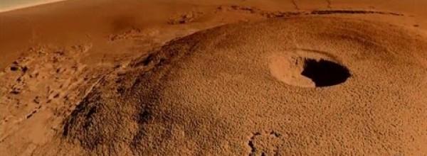 Mars' Gigantic Volcano – Olympus Mons