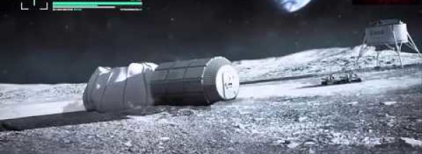Lunar Base Using 3D Printing