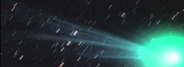 Comet Lovejoy at Its Peak