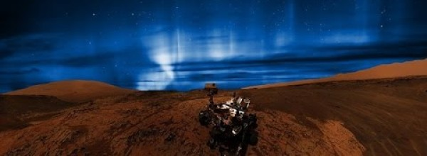 Aurora on Mars Is Visible by Naked Eye