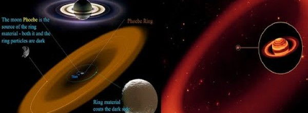 Saturn's Outer Ring, Phoebe, Is 7000 Times Larger than Saturn