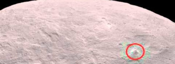 NASA's Dawn Spacecraft Has Detected a Huge Pyramid on Ceres