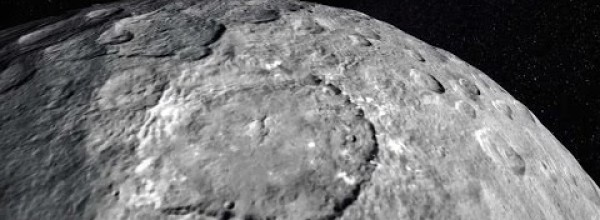 Ceres, Seen from a Distance of 5,700 Km