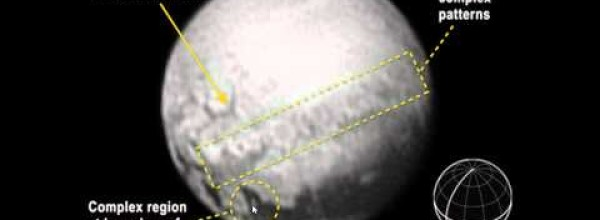 Pluto's Odd Spots Are Linked up with a Dark Belt Along Its Equator