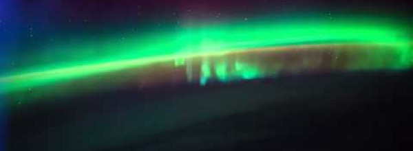 An Amazing View of Northern Lights