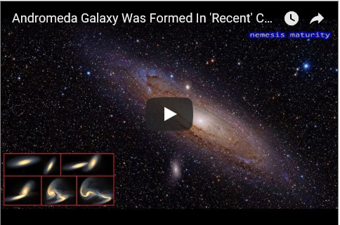 Scientists Revealed Andromeda Was Formed in Star Crash