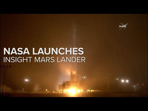 NASA Launches Insight Mars Lander
