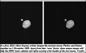 Martian Moons