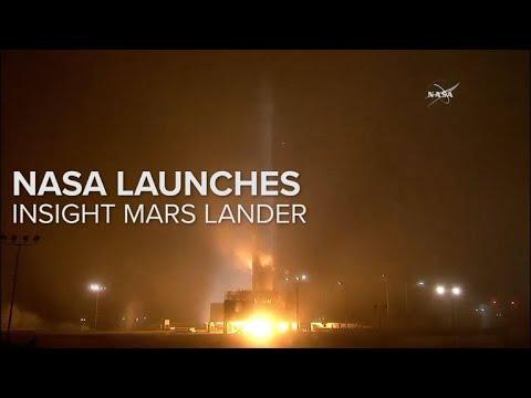 NASA Launches Insight Mars Lander